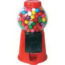"Drinkware - 8 1/2"" H Plastic Gumball Machine"