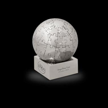 Globe Magnetic Puzzle