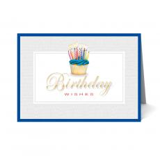New Greeting Cards - Cupcake Happy Birthday Card 25 Pack