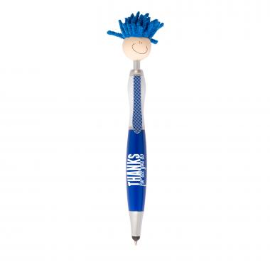 Thanks for All You Do Mop Top Stylus Pen 4-Pack