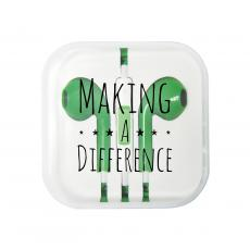 New Products - Making a Difference Ear Buds