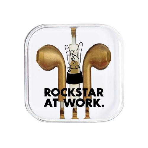 Rockstar at Work Ear Buds