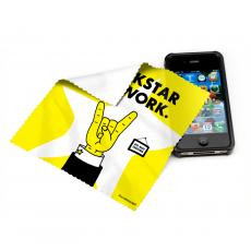 Technology Accessories - Rockstar at Work Microfiber Cleaning Cloth