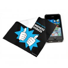 Business Essentials - Awesomeness in Progress Microfiber Cleaning Cloth