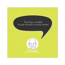 All Motivational Posters - Planning, Ben Horowitz - Startup Quote Poster
