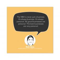 All Motivational Posters - Best Businesses are Personal, Mark Cuban - Startup Quote Poster