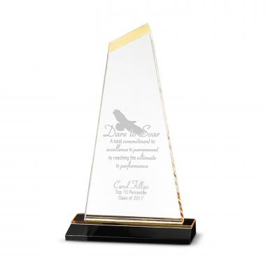 Gold Contributing to Excellence Acrylic Award