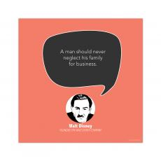 All Motivational Posters - Family, Walt Disney - Startup Quote Poster