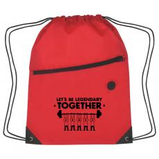 New Products - Let's Be Legendary Cinch Close Backpack