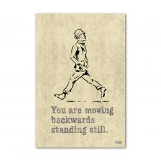 All Motivational Posters - Moving Backwards - Y&R Poster