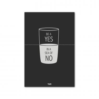 Be A Yes - Y&R Poster