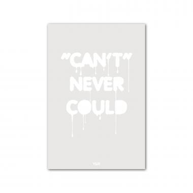 Can't Never Could - Y&R Poster