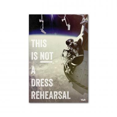 Not a Dress Rehearsal - Y&R Poster