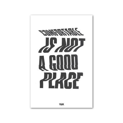 Comfortable - Y&R Poster