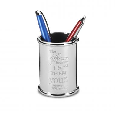 Making a Difference Executive Pen Cup
