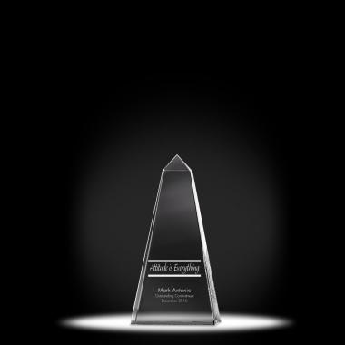 Leadership Obelisk Crystal Award