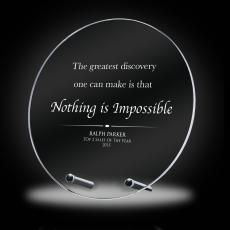 New Awards - Nothing is Impossible Crystal Award