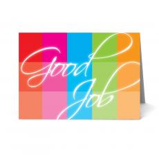 Recognition Cards - Rainbow Good Job Card 25 Pack