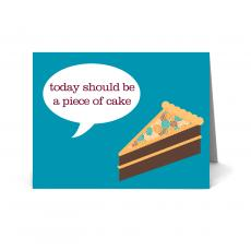 New Greeting Cards - Piece of Cake Happy Birthday Card 25 Pack