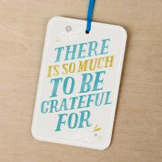Note Cards - So Much to be Greatful For Gift Tag Card