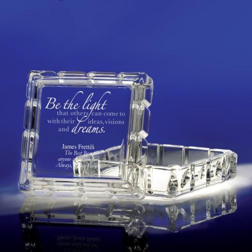 Keepsake Glass Box