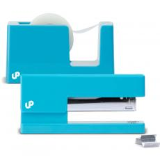 Closeout and Sale Center - Brighten Up Bright Blue Stapler and Tape Dispenser Gift Set