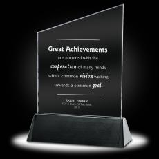 New Products - Great Achievements Crystal Award