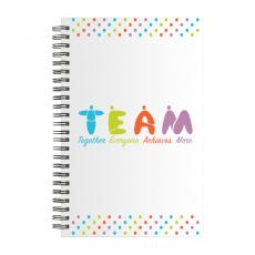 Books - Teamwork People Spiral Notebook