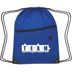 Bags - Teamwork Puzzle Cinch Close Backpack