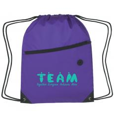 Backpacks - Teamwork People Cinch Close Backpack