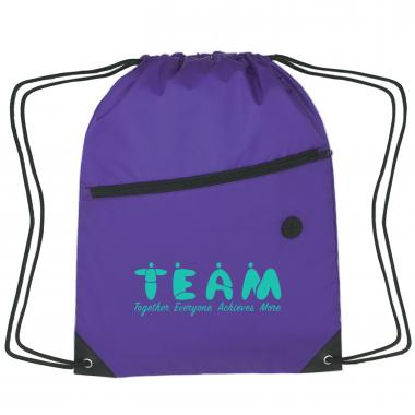 Teamwork People Cinch Close Backpack