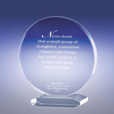 Together We Can Crystal Award