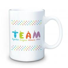 Ceramic Mugs - Teamwork People 15oz Ceramic Mug