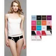 Apparel - Bella + Canvas Ladies' Cotton/Spandex Boyfriend Brief