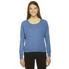 Apparel - American Apparel Ladies' Triblend Lightweight Pullover