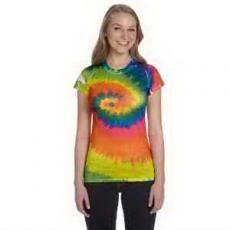 Apparel - Tie-Dye Juniors' Sublimation T-Shirt