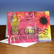 Exudes 25-Pack Greeting Cards