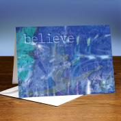 Believe 25-Pack Greeting Cards