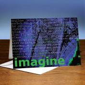 Imagine 25-Pack Greeting Cards