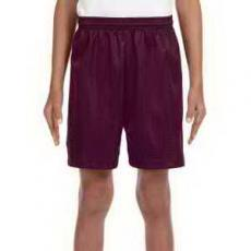 Apparel - A4 Youth Six Inch Inseam Mesh Short