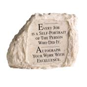 Every Job Is Stone Paperweight