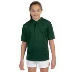 Apparel - Augusta Sportswear<sup>®</sup> Youth Wicking Two-Button Jersey