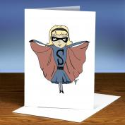 Courage Girl 25-Pack Greeting Cards