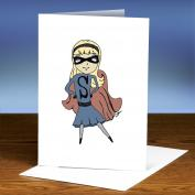 Take A Stand Girl 25-Pack Greeting Cards