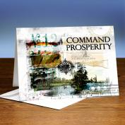 Command Your Prosperity 25-Pack Greeting Cards
