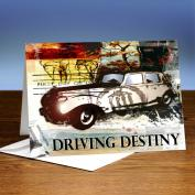 Driving Destiny 25-Pack Greeting Cards