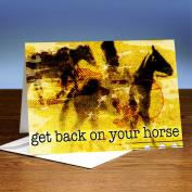 Back On Your Horse 25-Pack Greeting Cards