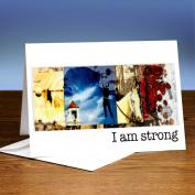 I Am Strong 25-Pack Greeting Cards