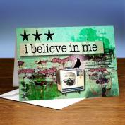 I Believe In Me 25-Pack Greeting Cards