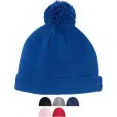 Office Supplies - Big Accessories Knit Pom Beanie